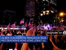 Hong Kong Semakin Membara, AS Mulai Ikut Campur