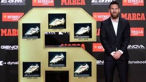Messi Raih Sepatu Emas 2018/2019
