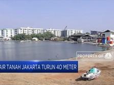 Permukaan Tanah Turun 40 M, Waspada Jakarta Bakal Tenggelam