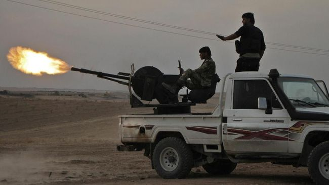 Rusia-Turki Setuju Milisi Kurdi Mundur dari Perbatasan Suriah