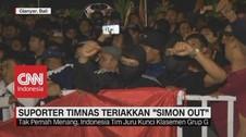 VIDEO: Suporter Timnas Indonesia Teriakkan