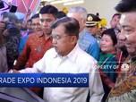 Targetkan 35 Ribu Transaksi, Trade Expo 2019 Dibuka Wapres JK