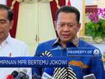 Pimpinan MPR Bertemu Jokowi Bahas Agenda Pelantikan