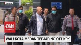 VIDEO: Wali Kota Medan Penerima Penghargaan Jokowi Kena OTT