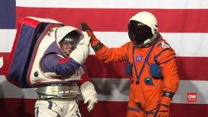 VIDEO: NASA Bikin Baju Astronaut Baru