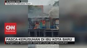 VIDEO: Pasca-Kerusuhan di Ibu Kota Baru