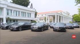 VIDEO: Mobil Premium untuk Tamu Negara di Pelantikan Presiden