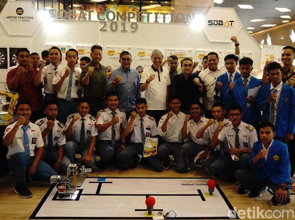 Kompetisi SOBAT dilaksanakan dalam dalam 2 kategori, yaitu kategori inovasi Teknik Alat Berat (TAB) dan kategori inovasi umum. Total makalah inovasi yang terkumpul adalah 92 inovasi dari 47 sekolah yang tersebar di seluruh Indonesia. Pada tanggal 14 – 16 Oktober 2019 di Jakarta. Istimewa