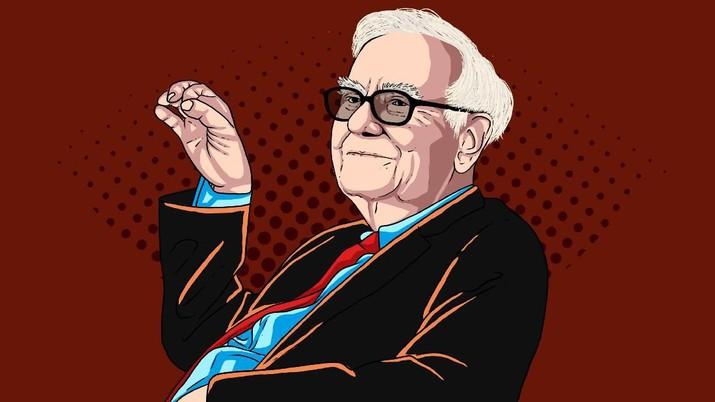 Infografis/ Warren Buffett Risau! 5 Saham  'Tekor' Ini Terpaksa Dilepas