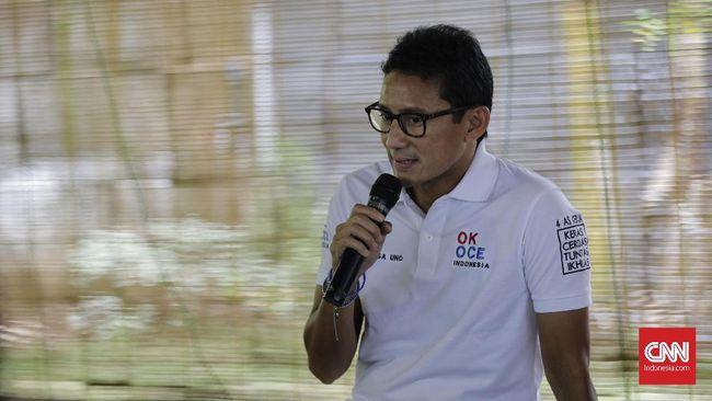 Erick Thohir Tutup Peluang Sandiaga Uno Jadi Bos BUMN