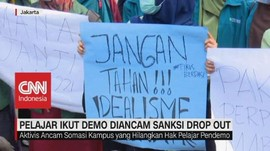 VIDEO: Ikut Demo, Pelajar & Mahasiswa Diancam Drop Out