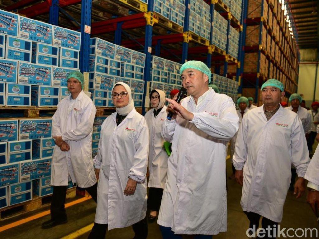 Indonesia  Ekspor Air Mineral ke Singapura