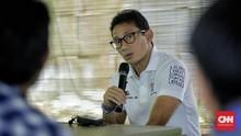 Fraksi Gerindra DPRD Pastikan Sandi Tak Balik Jadi Wagub DKI