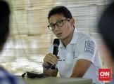 Sandiaga Respons Jokowi: Terlalu Dini Bicarakan 2024