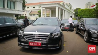 Istana Gelontorkan Rp1 Miliar untuk Sewa Mobil Tamu Negara
