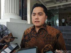 Usai 'Sapu Bersih', Erick Thohir Mau Angkat 5 Pejabat Baru BUMN