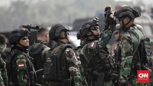 FOTO: Pasukan Pengamanan Pelantikan Jokowi-Ma'ruf