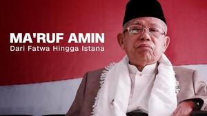 VIDEO: Ma'ruf Amin, Dari Fatwa Hingga Istana