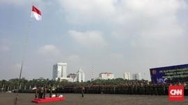 TNI-Polri Gelar Pasukan Pengamanan Pelantikan Jokowi-Ma'ruf