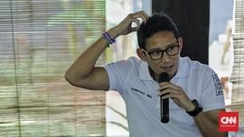 Sandiaga Uno Singgung OJK Soal Saham Gorengan Kasus Jiwasraya