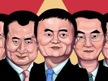 Berharta Ratusan Triliun Rupiah, Ini 5 Orang Terkaya China
