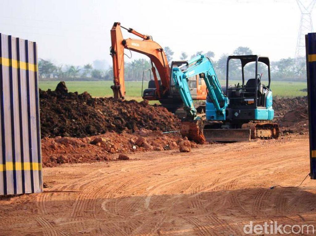 Waduh! Pembangunan Jalan Lingkar Majalaya Gusur Lahan Pertanian