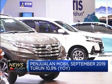 Penjualan Mobil September 2019  Anjlok 10,9%
