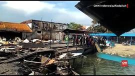 VIDEO: Situasi di Pelabuhan Penajam Sehari Pascakerusuhan