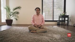 Meditasi Pagi dan Tubuh Penuh Damai ala Monique