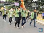 Usai Demo 2 Jam, Mahasiswa Bubarkan Diri dengan Tertib