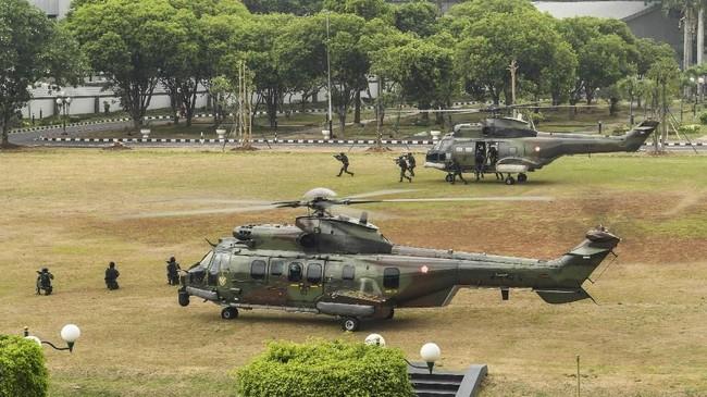 Jokowi telah meminta MPR dan semua pihak menggelar pelantikan presiden secara sederhana. ANTARA FOTO/Muhammad Adimaja/nz.