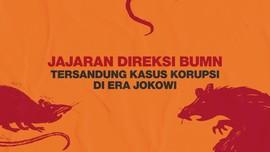 INFOGRAFIS: Direksi BUMN Tersandung Korupsi di Era Jokowi