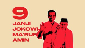 INFOGRAFIS: 9 Janji Jokowi-Ma'ruf Amin