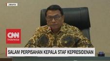 VIDEO: Salam Perpisahan Kepala Staf Kepresidenan