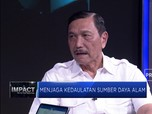 Luhut Bicara Progres Pembangunan Indonesia