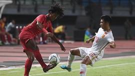 Timnas Indonesia U-19 Kalah 1-3 dari China