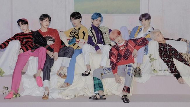 BTS Dinobatkan Jadi Group of the Year Versi Variety