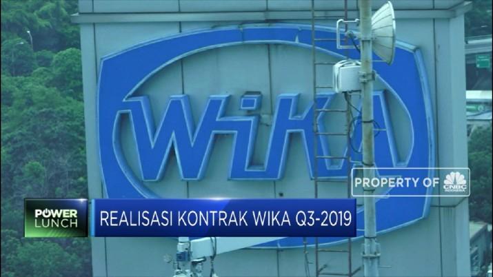 Realisasi Kontrak Wika Baru 41,69% dari Target Tahun ini (CNBC Indonesia TV)