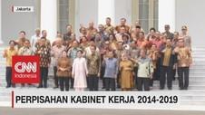 VIDEO: Jokowi Baru Tahu Bakat Jajarannya Saat Perpisahan