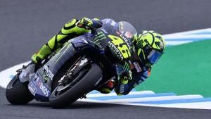 Sempat Tukar Motor, Rossi Puas Hasil FP2 MotoGP Jepang
