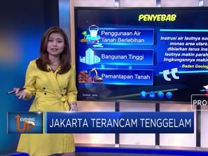 Permukaan Tanah Menurun, Jakarta Terancam Tenggelam