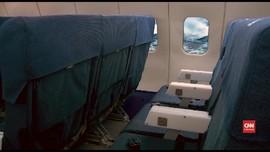 VIDEO: AS Uji Pengaruh Ukuran Kursi Pesawat dan Keselamatan