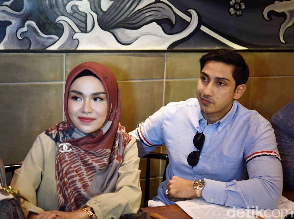 Medina telah bekerjasama dengan Irwansyah dalam usaha makanan sejak 2017. Foto: Palevi/detikHOT