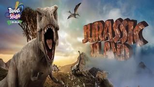 Serunya Menjelajahi Jurassic Island di Trans Studio Cibubur