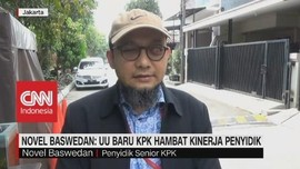 VIDEO - Novel Baswedan: UU Baru KPK Hambat Kinerja Penyidik