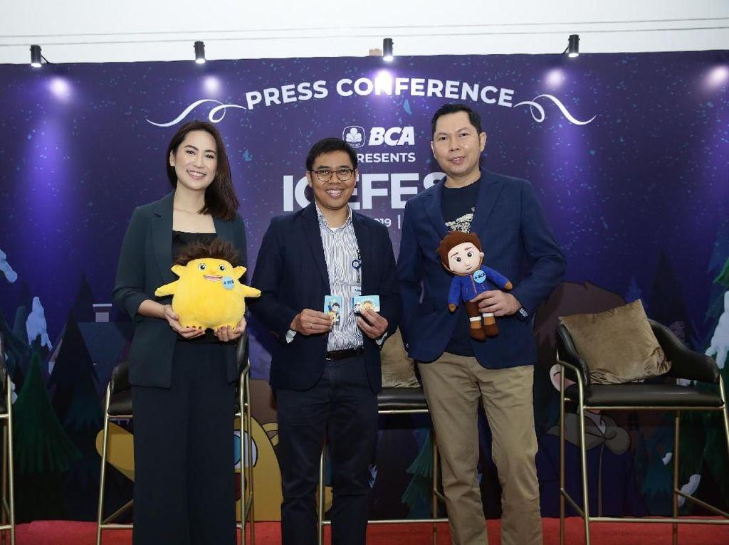 IIG events menggandeng BCA sebagai sponsor utama mempersembahkan ICEFEST 2019 yang akan diselenggarakan pada 19-29 Desember 2019 di Indonesia Convention Exhibition (ICE).