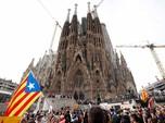 Tuntut Kemerdekaan Catalunya, Ribuan Orang Berdemo di Spanyol