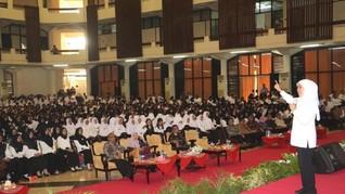 Bekali CPNS Jatim, Khofifah Ingatkan Jiwa ASN untuk Melayani