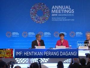 IMF: Hentikan Perang Dagang!
