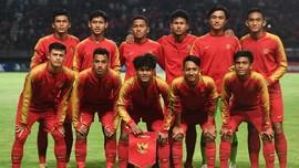 Timnas Indonesia U-19 Pantang Besar Kepala
